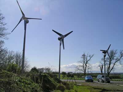 Foundation installation - 6kW Wind Turbine Structure