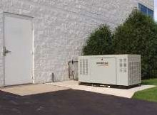 Generac Quiet Source Generator on location